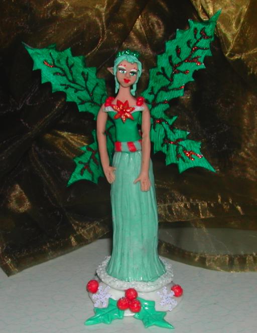 Fleur de Houx dans Le village de Noël Fleur-de-Houx-by-zhelia-01